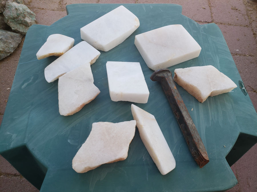 Photo of Sharpening Hones from Found Rocks