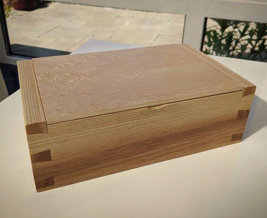 Ash & Birdseye Maple Box