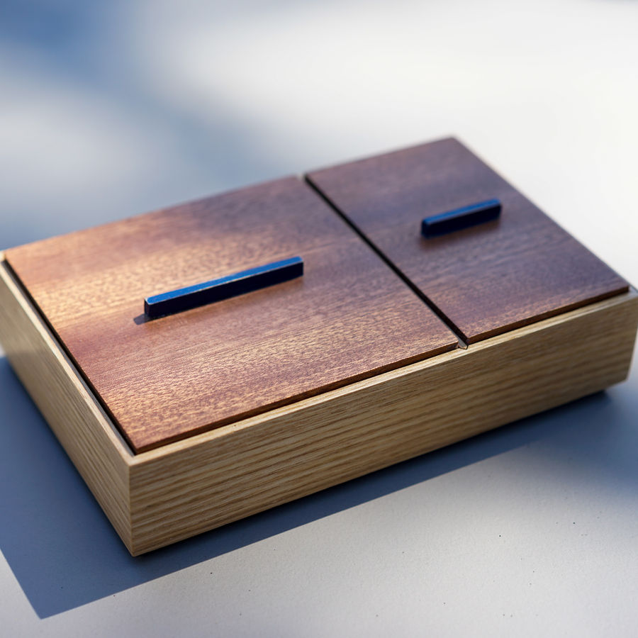 Photo of Two-Compartment Box