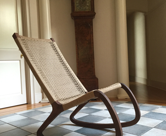 Walnut And Danish Cord Rocking Chair - Create Your Free Maker Profile - SimpleCove