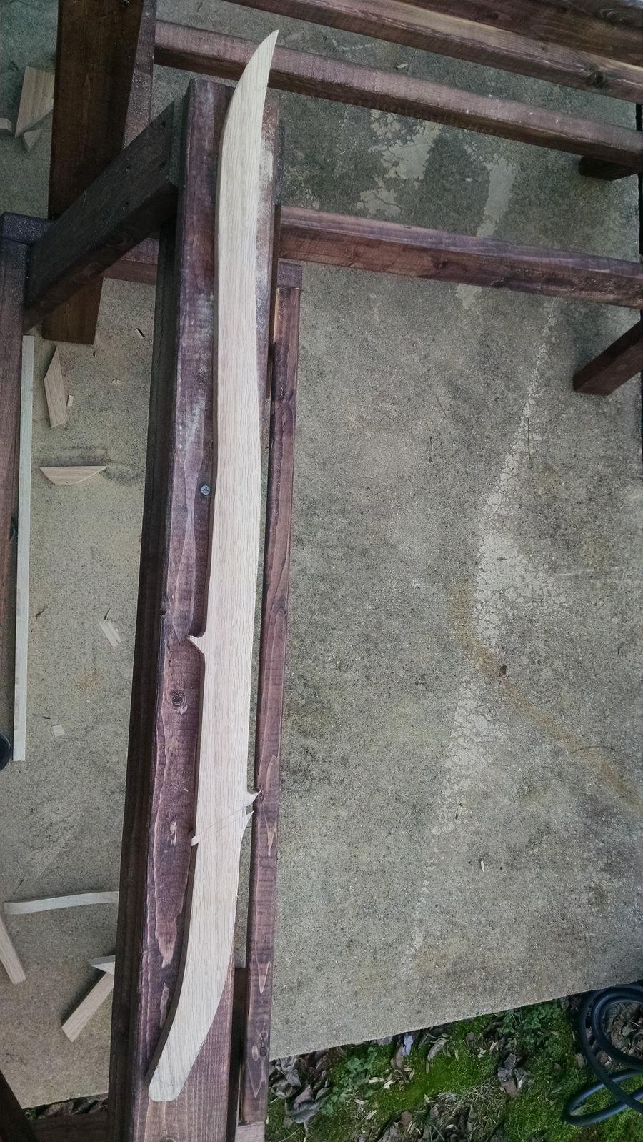 Photo of Red Oak Hadhafang Replica