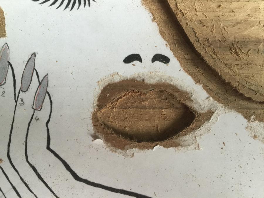 Photo of Walnut Make-Up Box With Custom Inlay
