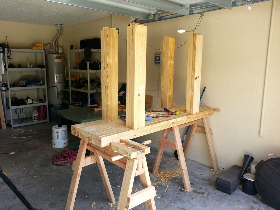 Photo of My Workbench Build - Hand Tools Only