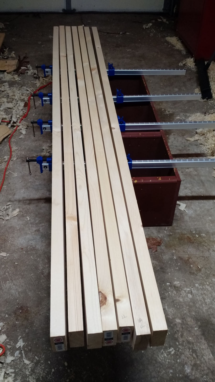 Photo of Knockdown Nicholson Bench With Laminated Top