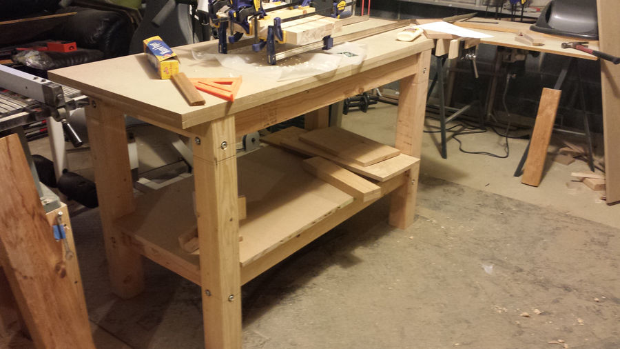 Photo of Super Simple Workbench Build