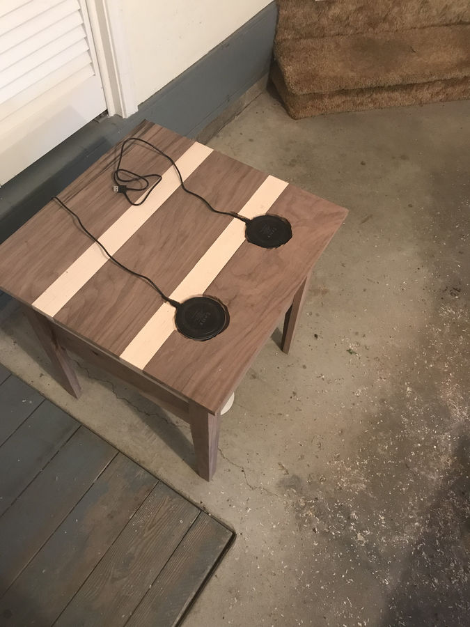 Photo of Charging Table With Secret Drawer