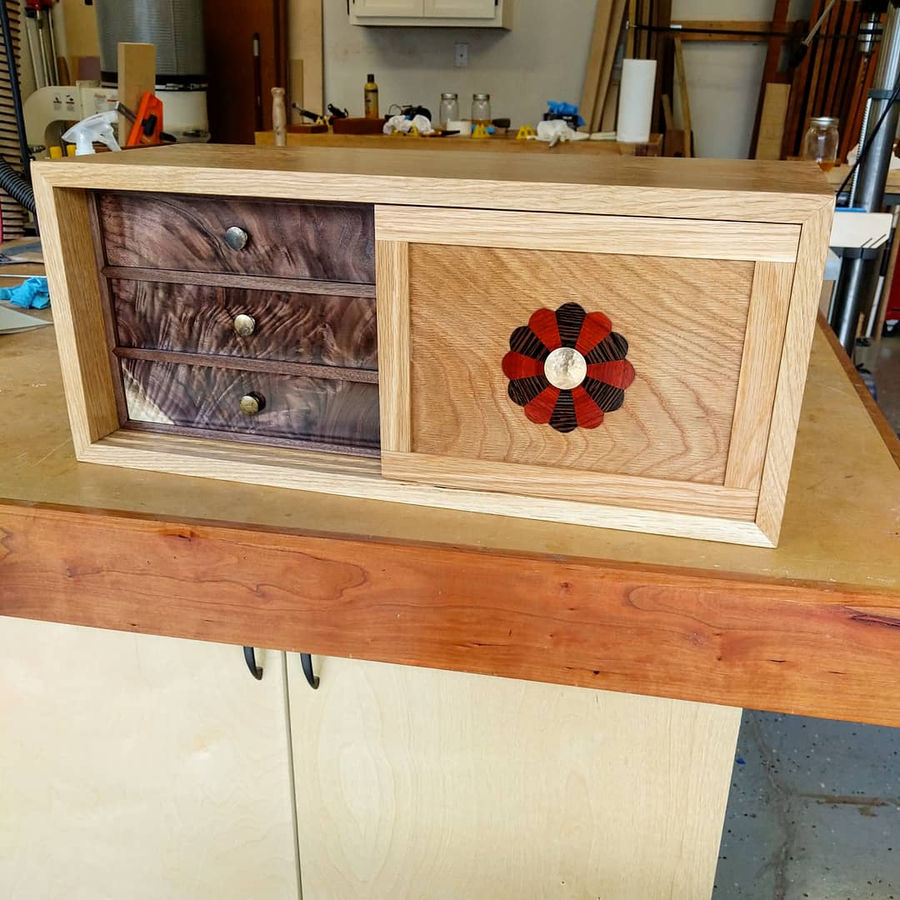 Photo of Tansu Inspired Chest
