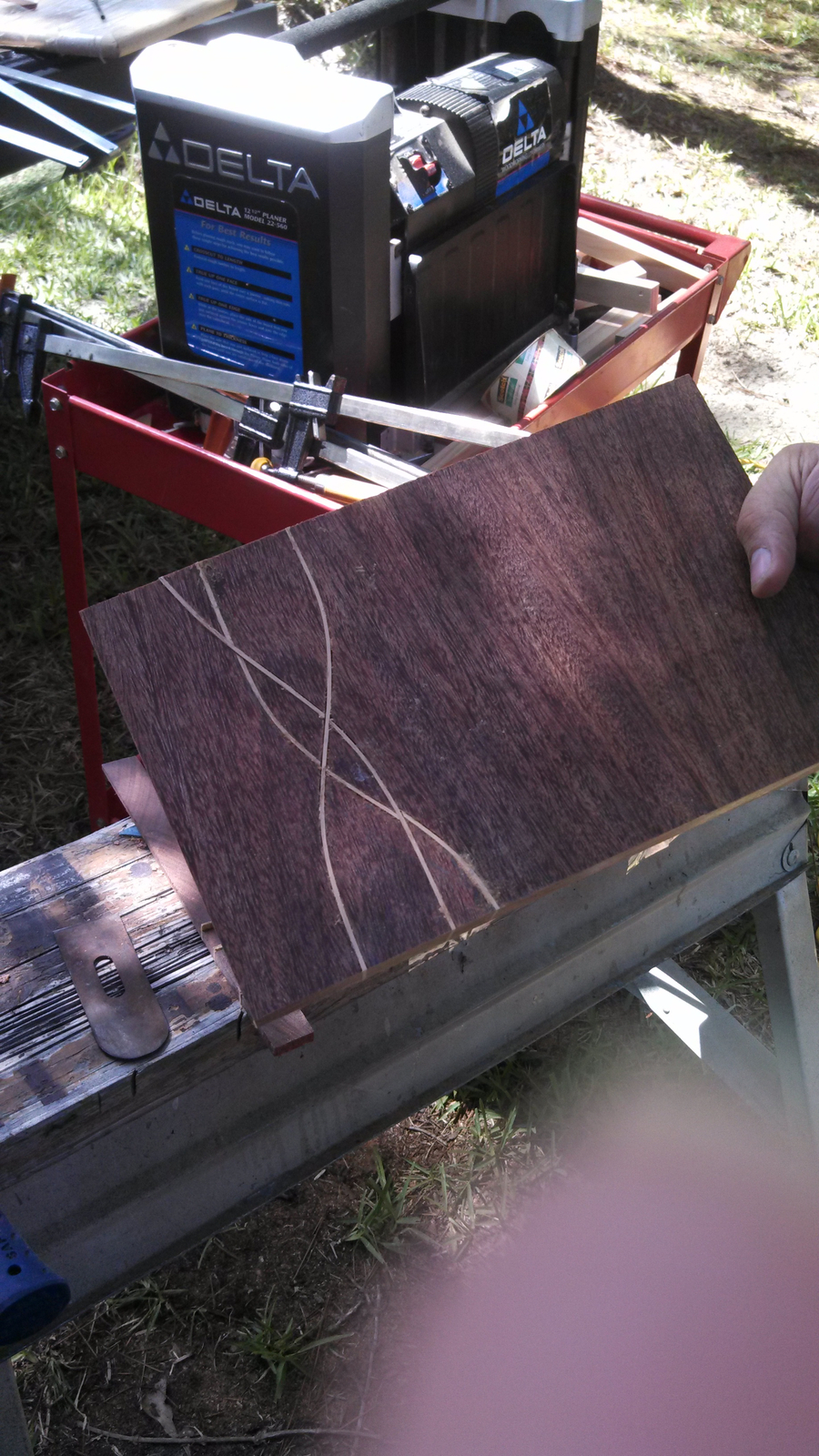 Photo of Teak And Oak Cheese Board
