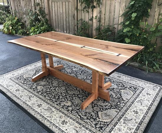 Nakashima Style Dining Table