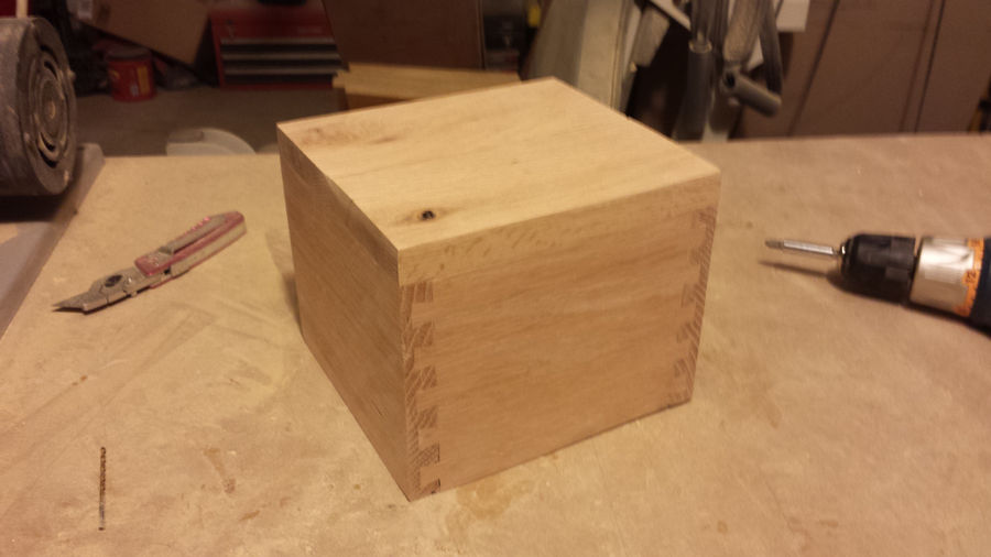 Photo of First Dovetail Box With Scrap Wood
