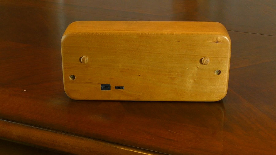 Photo of Wooden Handheld Game Console