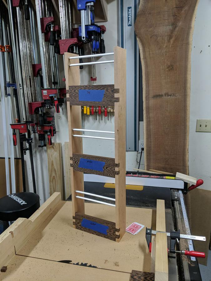 Photo of Simple magazine rack