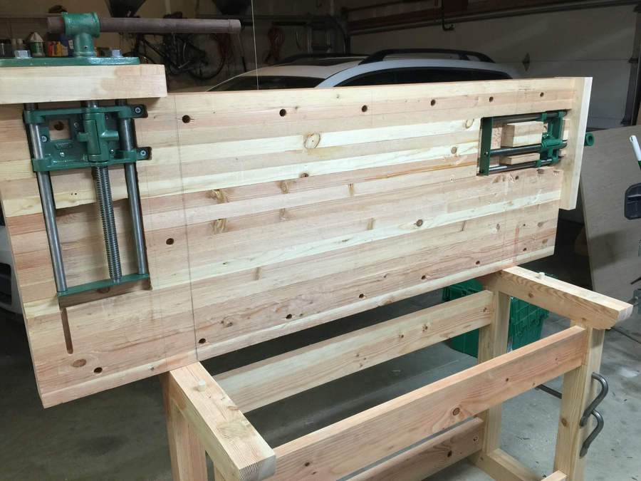 Photo of Woodworkers Workbench