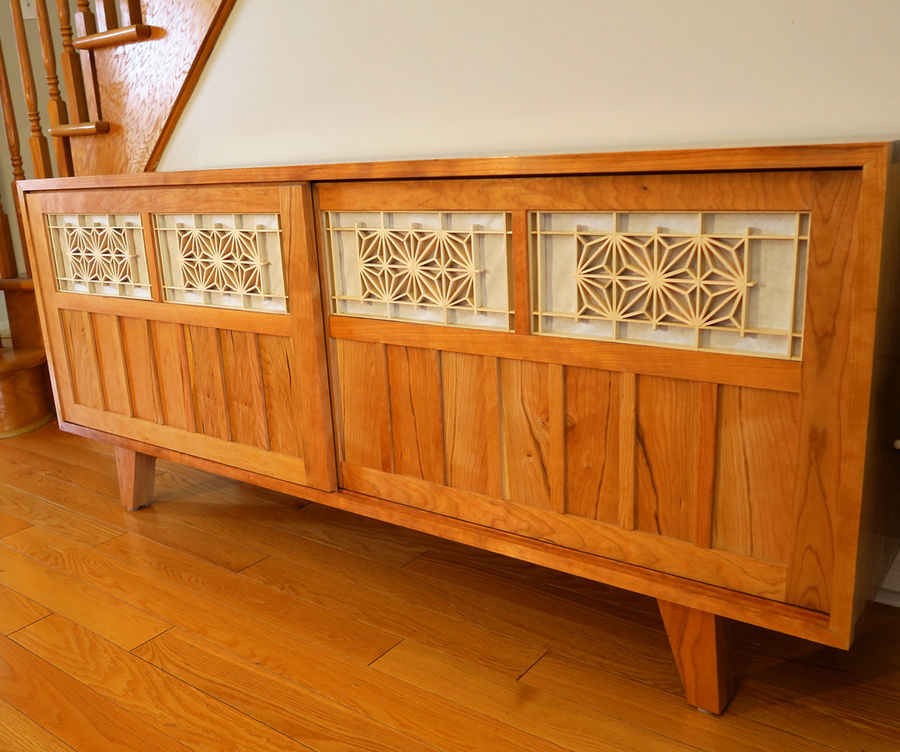 Photo of Cherry Credenza