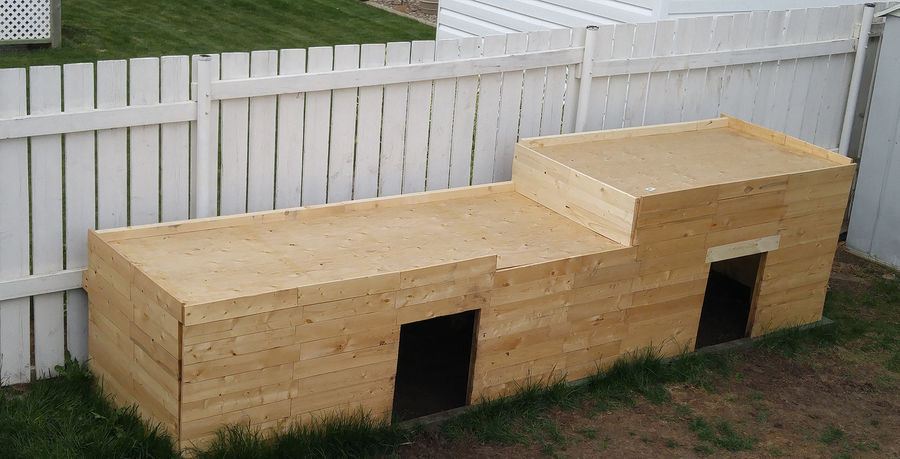 Photo of 13 Foot Long Planter / Dog House