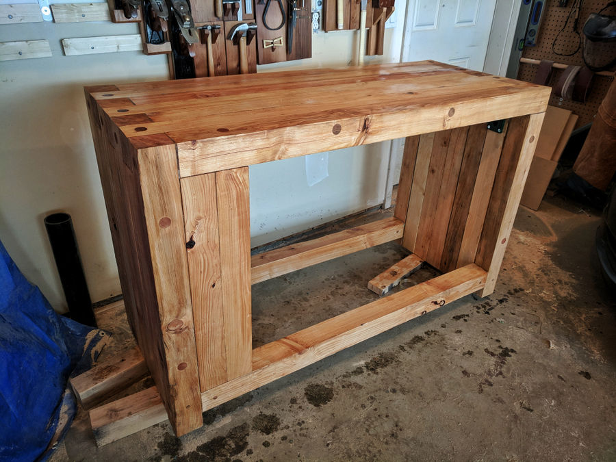 Photo of Hand Tool Workbench