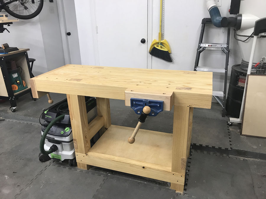 Photo of Jay Bates Workbench