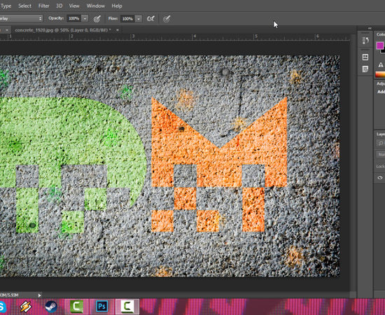 Spraypaint/Graffiti Effect - Photoshop Tutorial by Jonathello