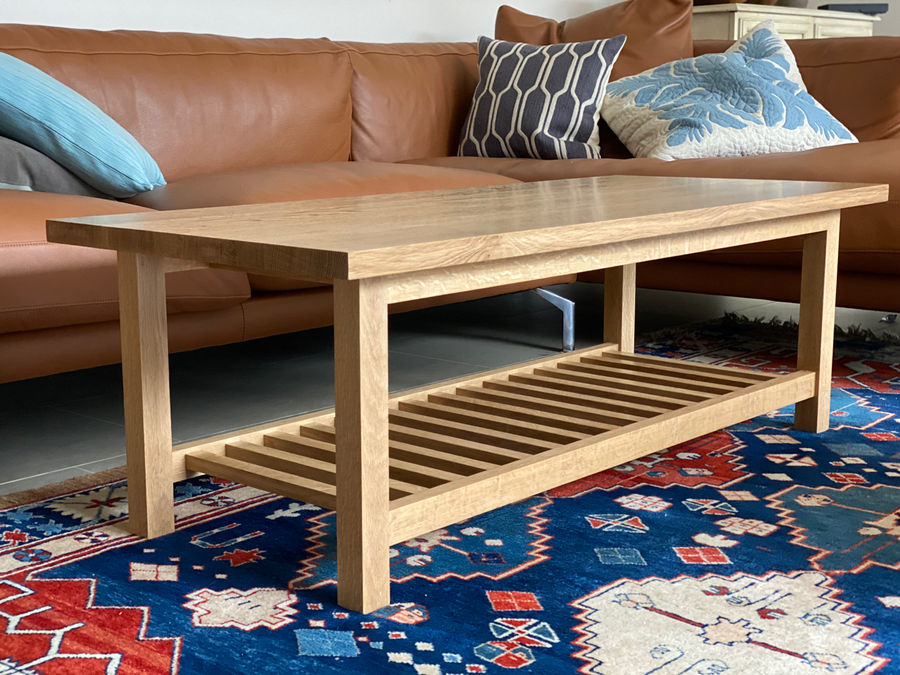 Photo of White Oak Coffee Table