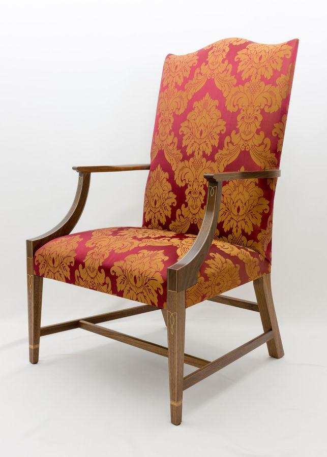 Photo of Lolling Chair (aka Martha Washington chair)