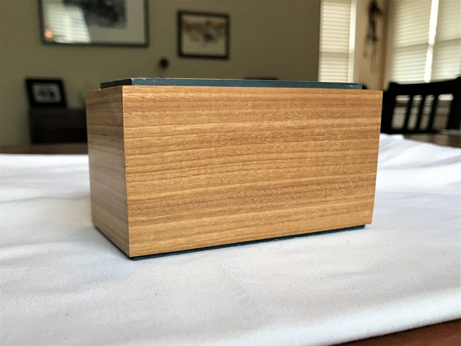 Photo of Box 25 In Afromosia And Bookmatched Ash