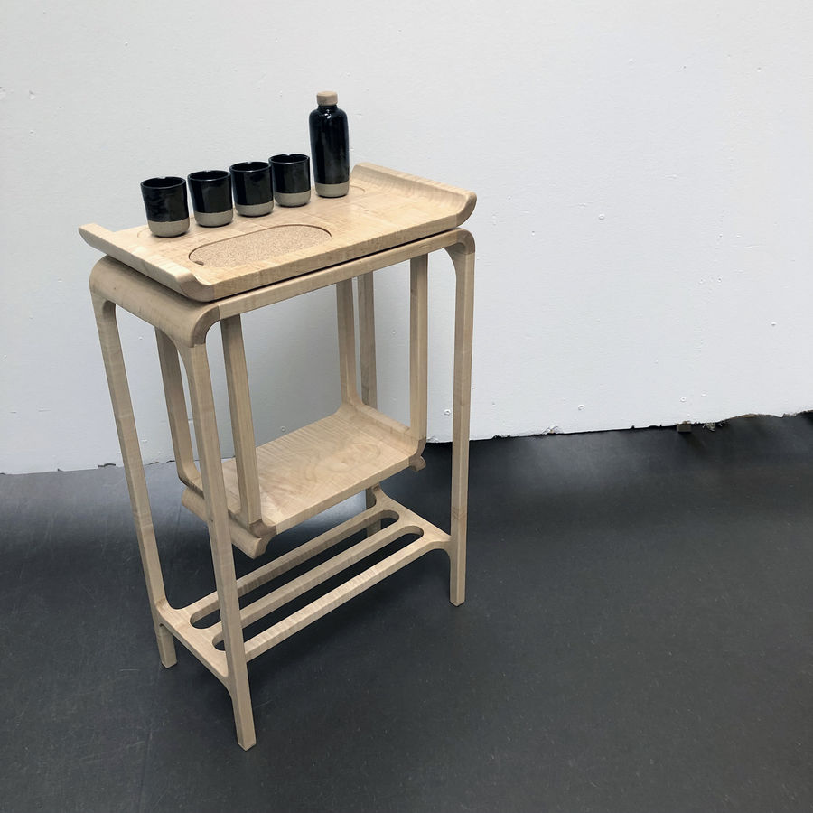 Photo of Small Space Bar Table