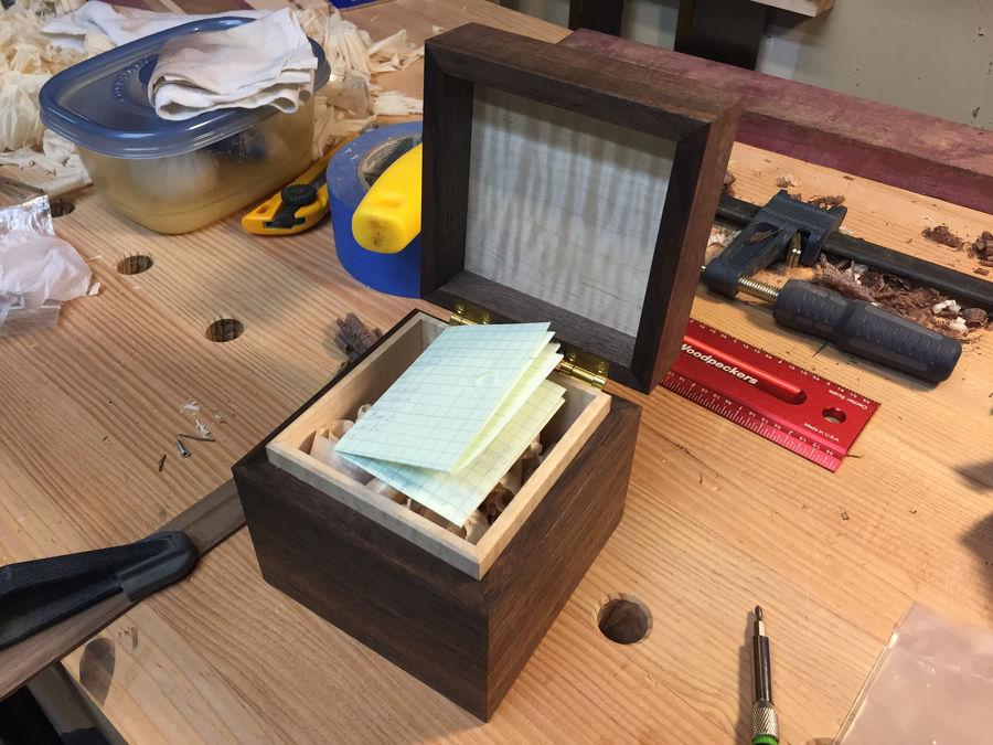 Photo of Walnut Keepsake Box