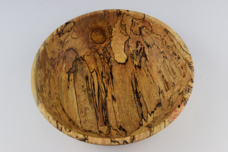 Photo of Spalted Hackberry Bowl