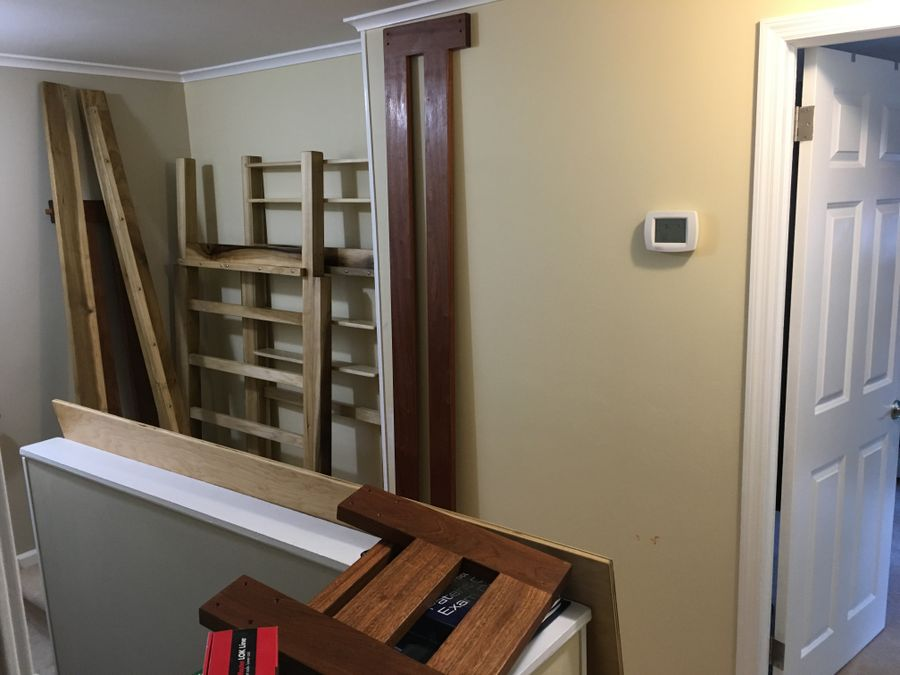 Photo of Hardwood Bunk Bed