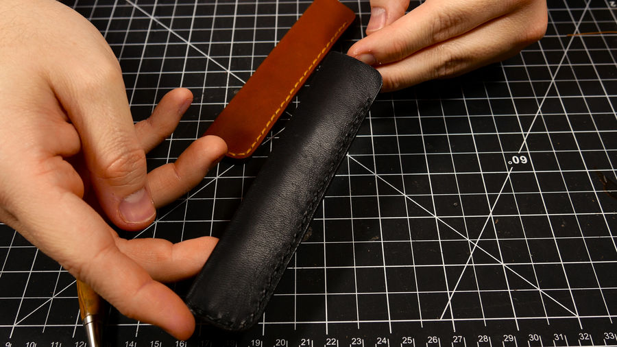 Photo of Leather Pen Case