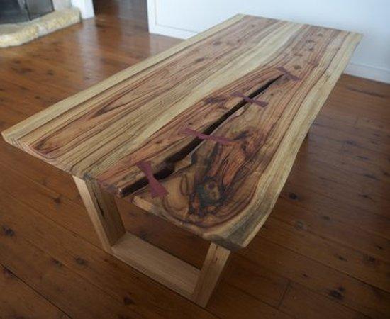 Kintsugi coffee table