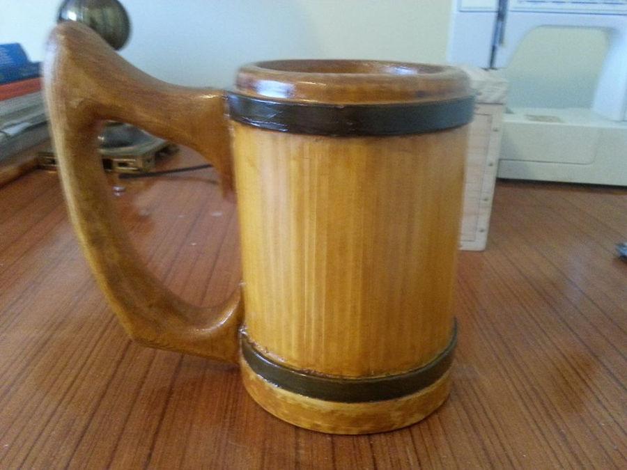 Photo of Large Wooden Mug
