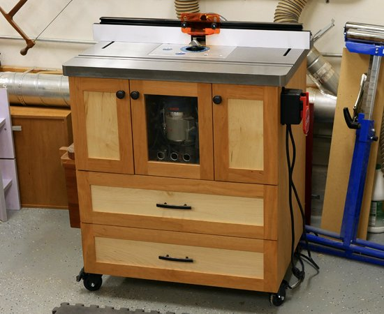 The Ultimate Router Table