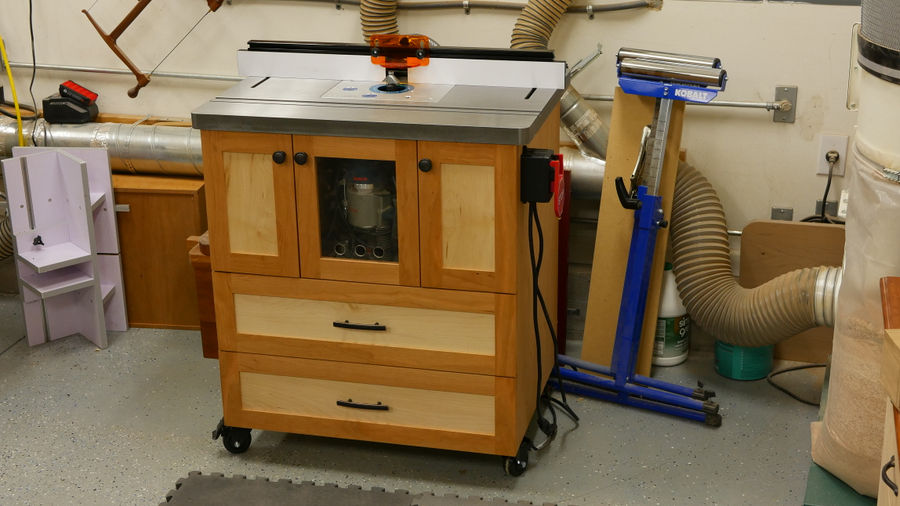 Photo of The Ultimate Router Table