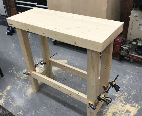 Quick Lathe Bench