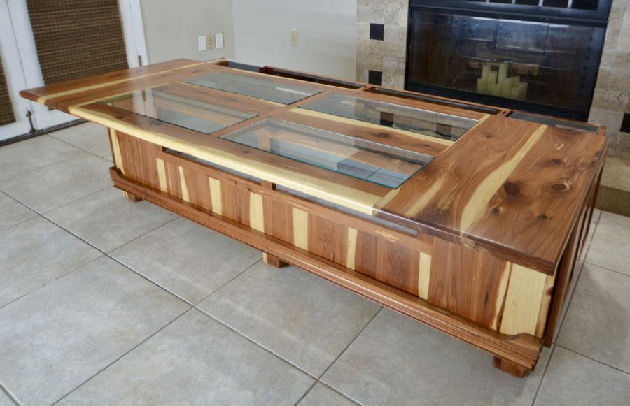 Photo of Terrarium Coffee Table Build