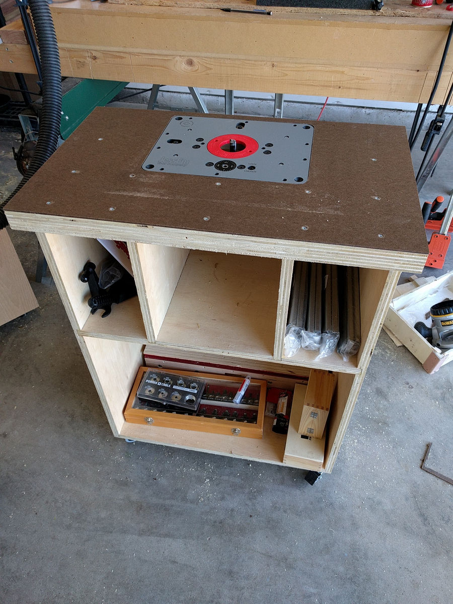 Photo of Router Cabinet