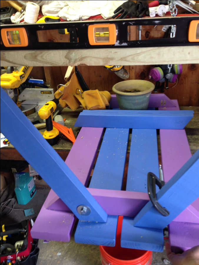 Photo of 2xx Kiddo Picnic Table