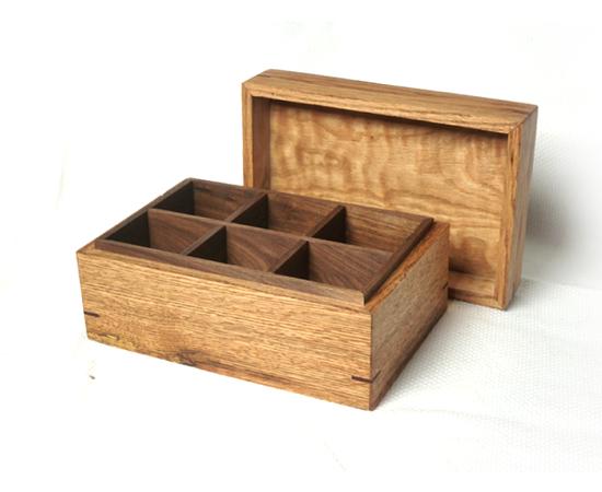 Reclaimed Barn Beam Tea Box
