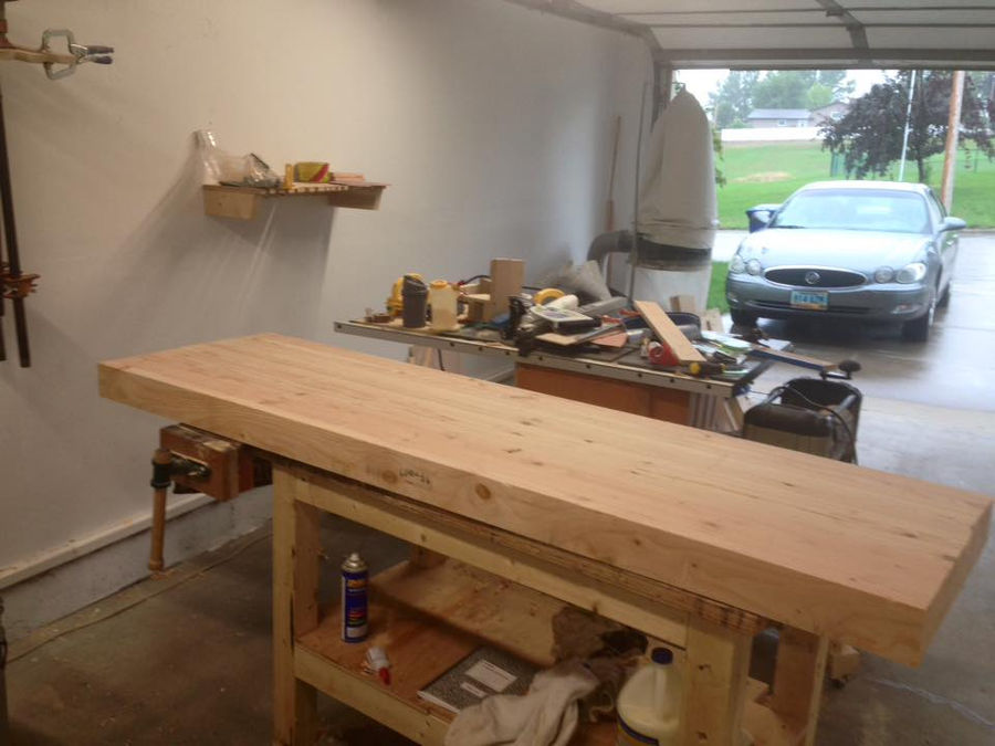 Holtzapffel Bench Part - 19: It Is Sitting On My Poor Workbench That Was The First Bench I Ever Built.  It Is Wobbly, Covered In Glue, Stain, And Paint, ...