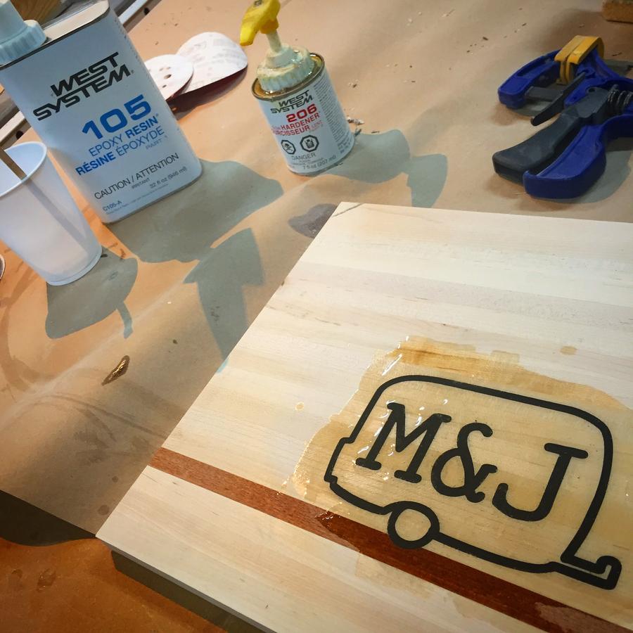 Photo of Epoxy Inlay Cutting Board