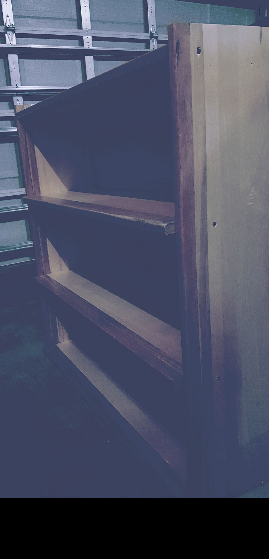 Photo of Simple, Reclaimed Wood, Book Case