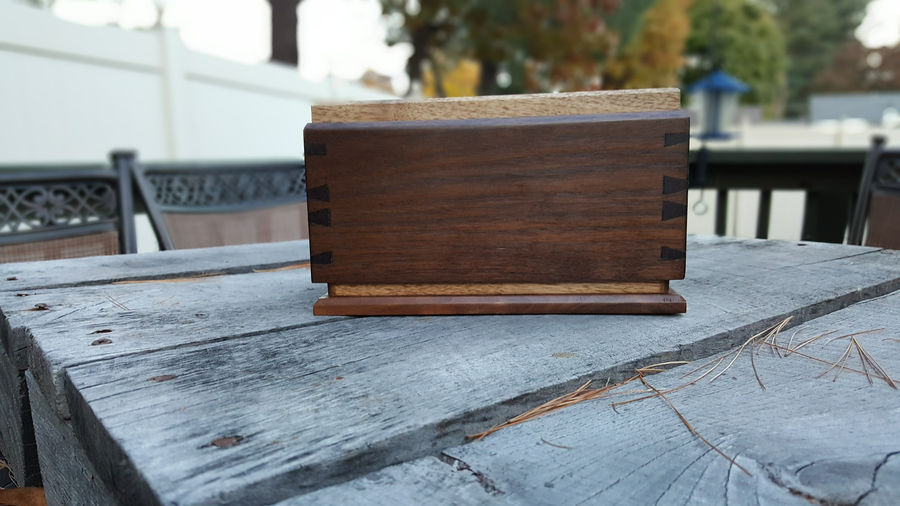 Photo of Walnut Tea Box