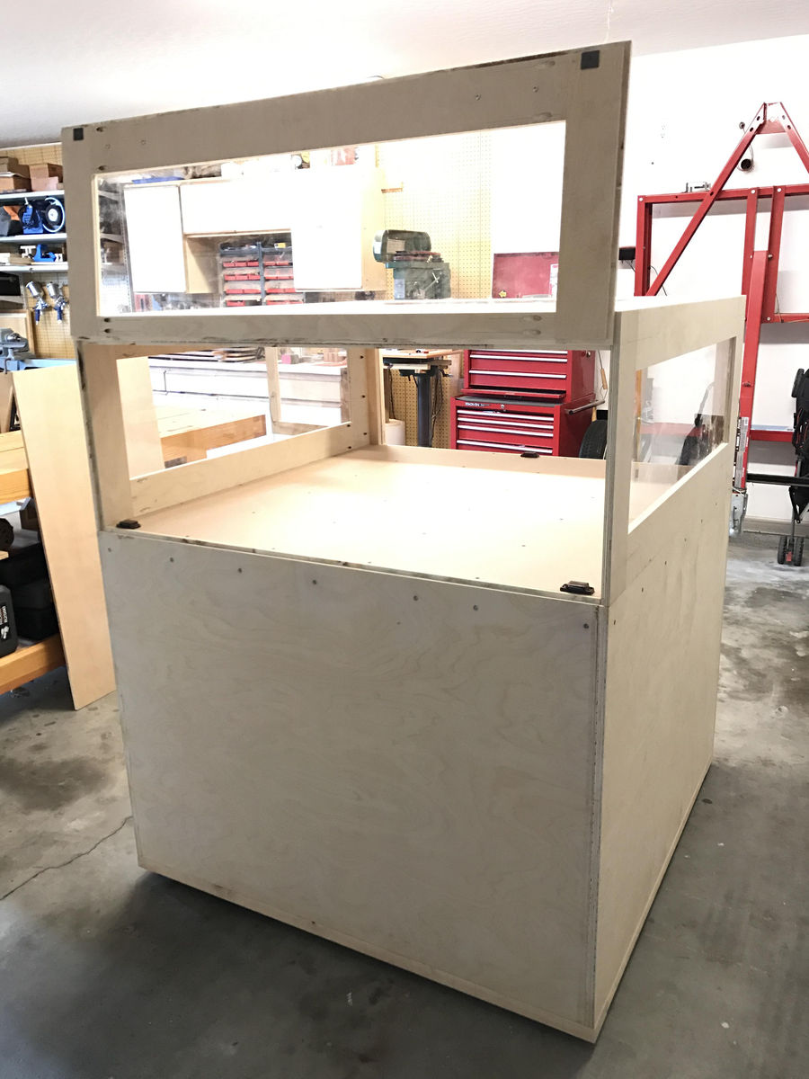 Photo of Shapeoko Xxl Cnc Enclosure And Cabinet