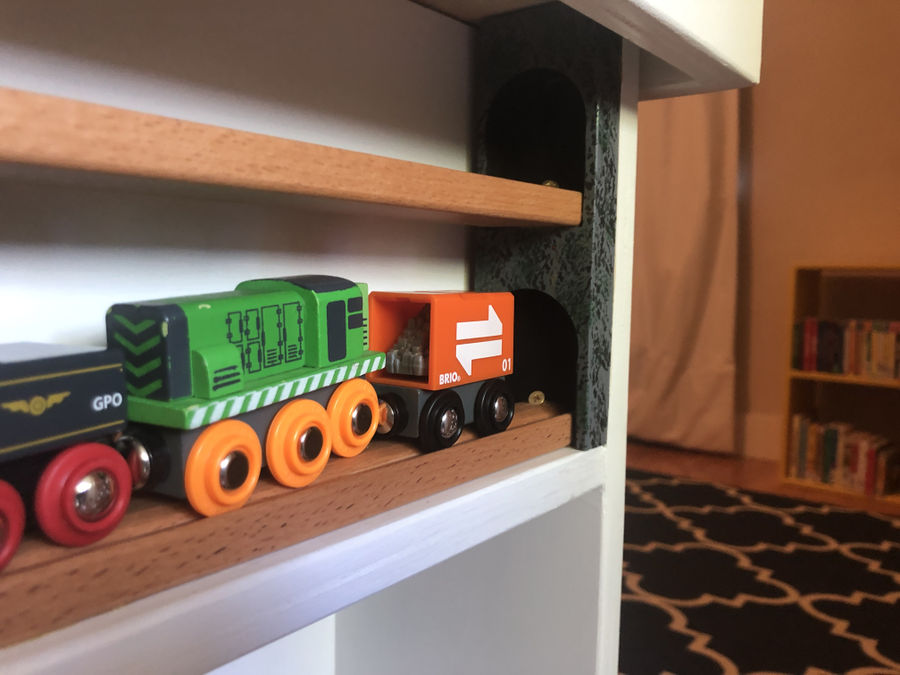 Photo of Train and Lego table for a kid