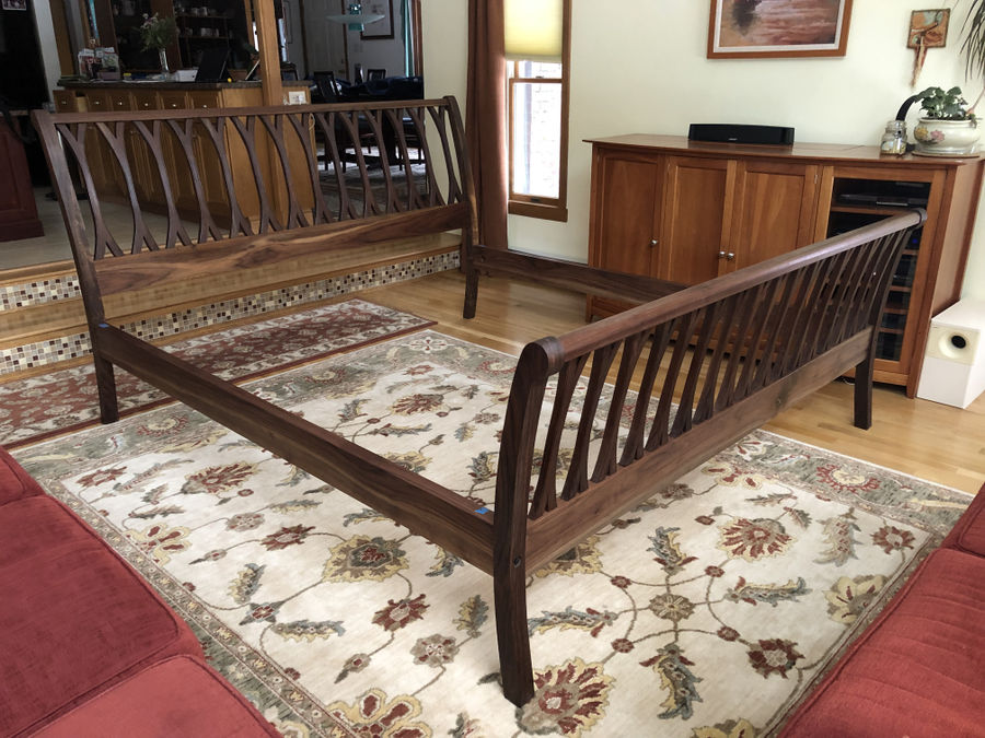 Photo of Anna Liffey Sleigh Bed