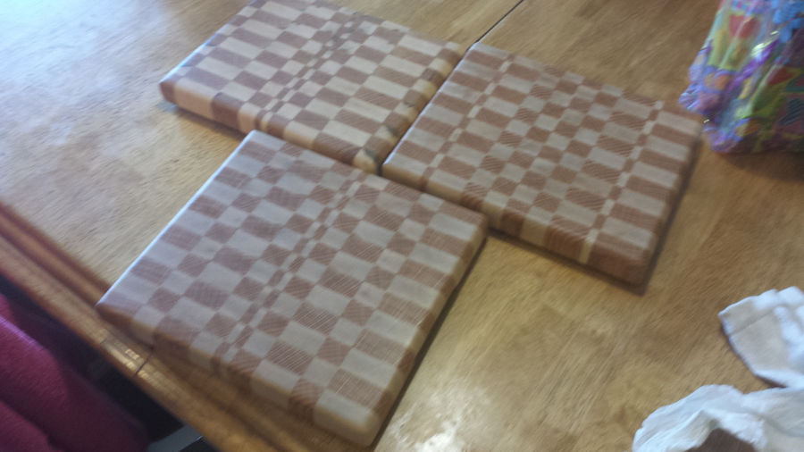 Photo of Set Of Three End Grain Cutting Boards