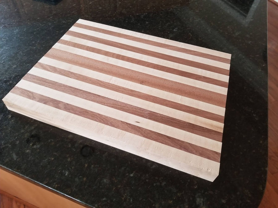 Photo of Pig Sapele and Maple Cutting Board