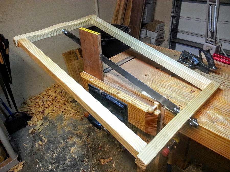 An Inexpensive Frame Saw by Timmy2Hands | SimpleCove
