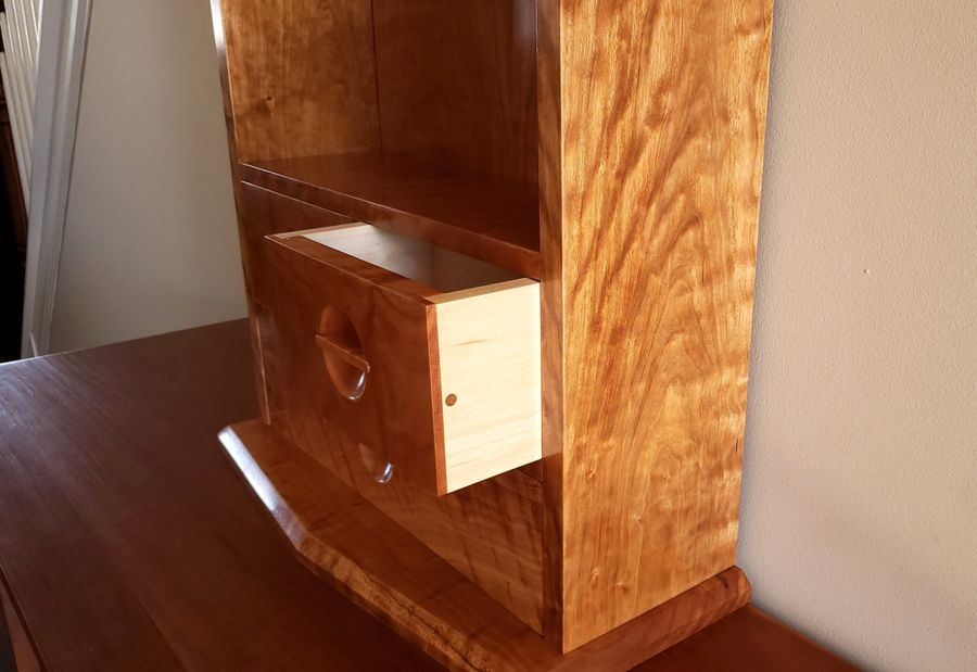 Photo of Cherry Wall Cabinet